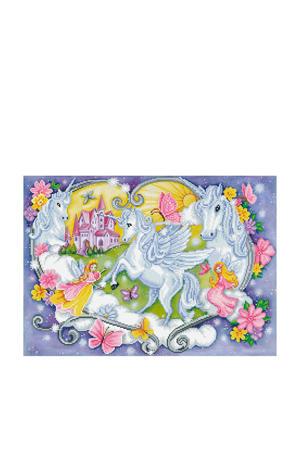 princess magic diamond dotz: 66x47 cm