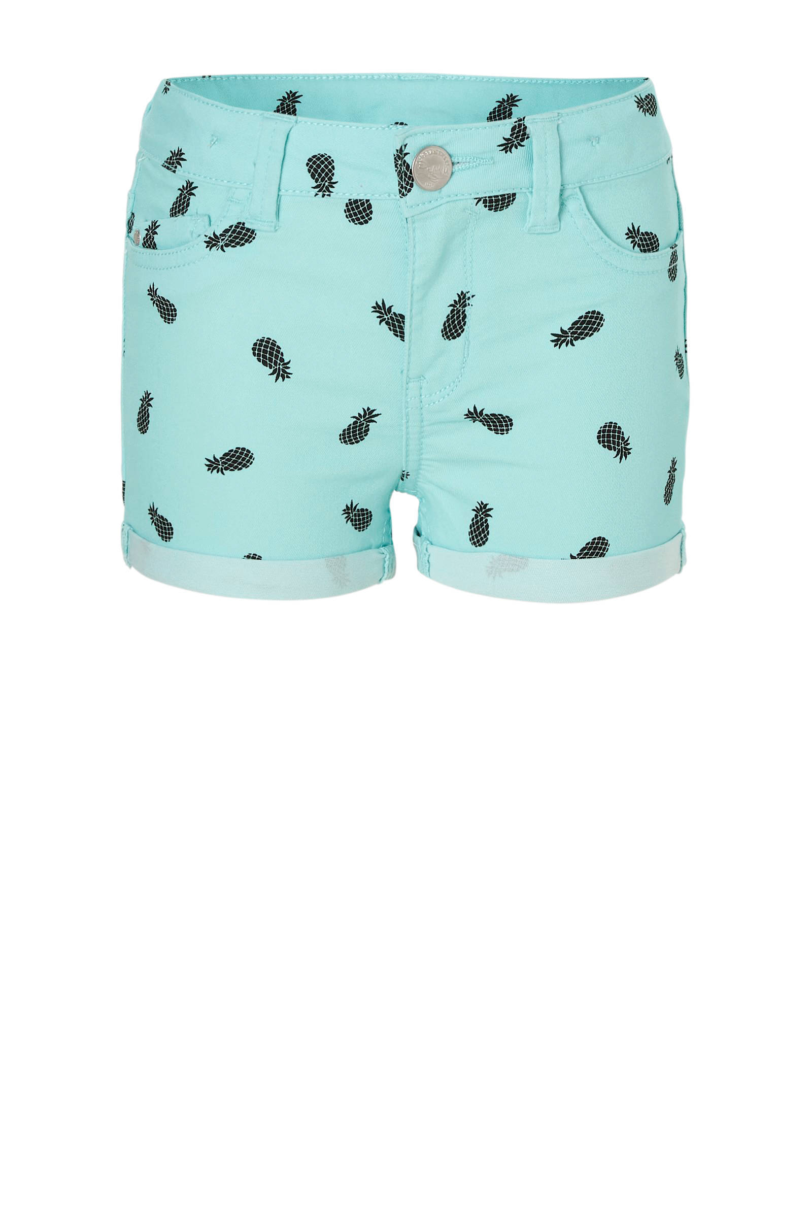 C&A Here & There short met fruitprint turquoise | wehkamp