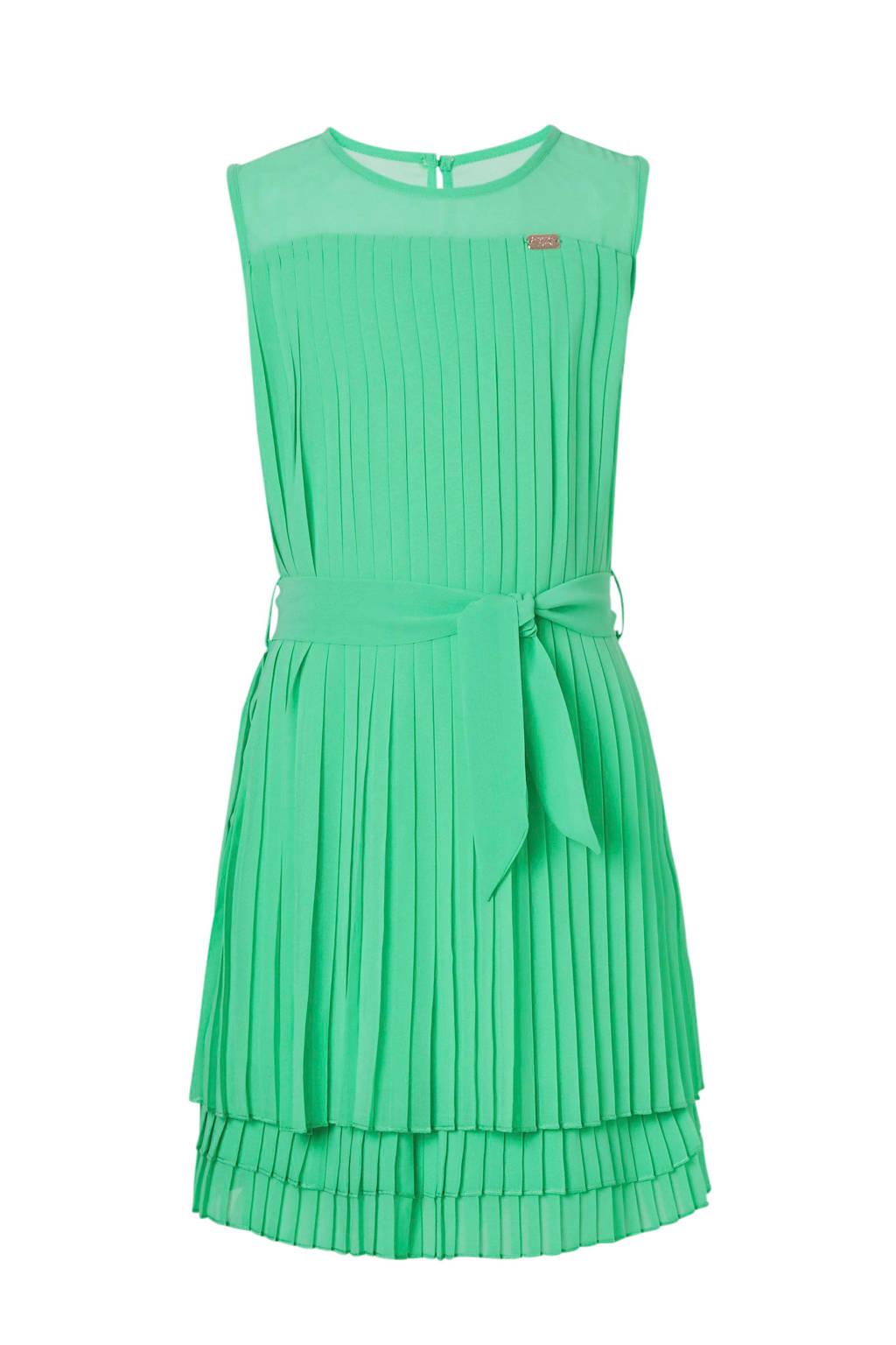 C&A plissé jurk groen, Groen