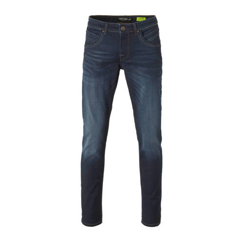 Cars regular fit jeans Henlow coated dark blue