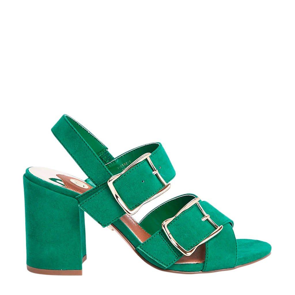 River Island   sandalettes groen, Groen