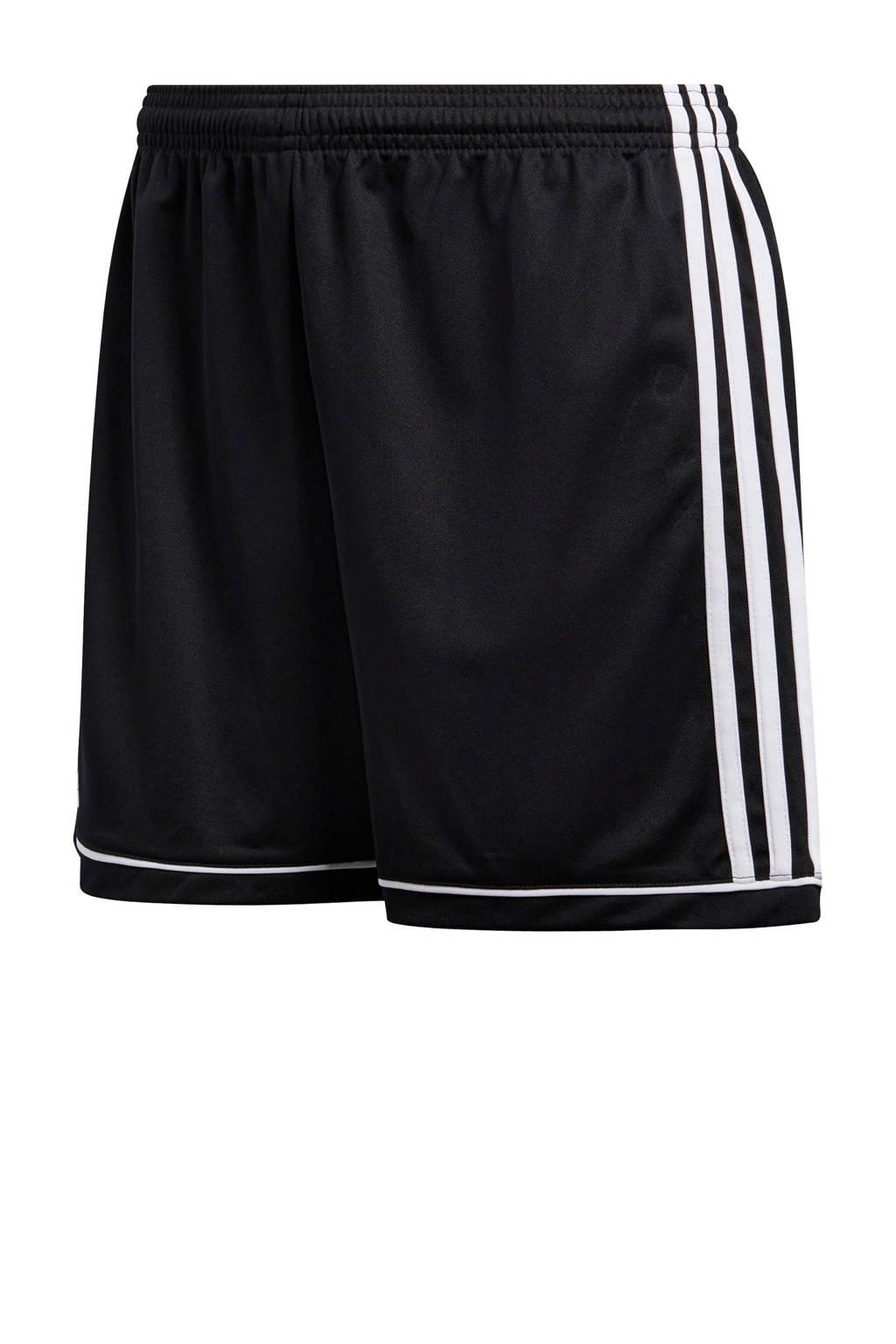 adidas performance Squad 17 sportshort zwart, Zwart/wit