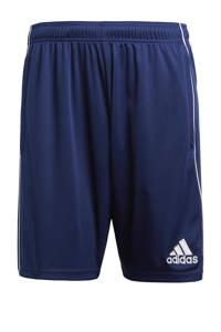 adidas Performance   sportshort Core 18 donkerblauw, Donkerblauw/wit