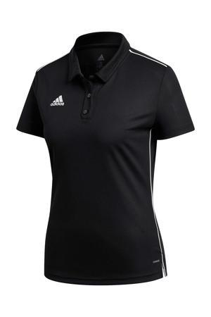 sportpolo Core 18 zwart