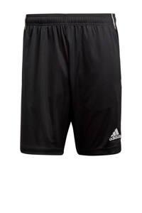 adidas Performance   sportshort Core 18 zwart, Zwart/wit