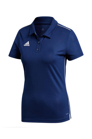 sportpolo Core 18 donkerblauw