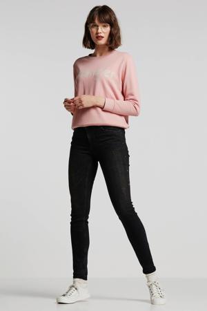 gemêleerde skinny jeans zwart