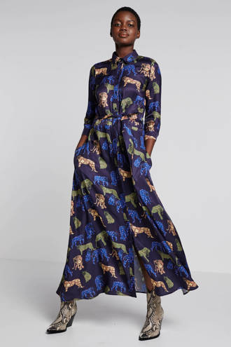 blousejurk met all over print