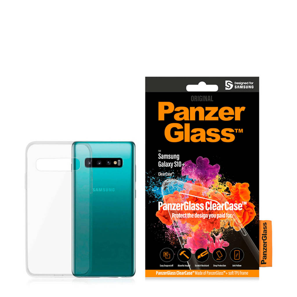 PanzerGlass  clearcase Galaxy S10+, Transparant