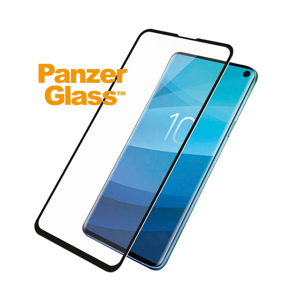 PanzerGlass screenprotector Samsung Galaxy S10E, Transparant