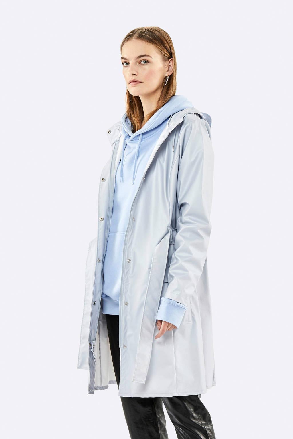 Rains Curve jacket regenjas grijs, Grijs