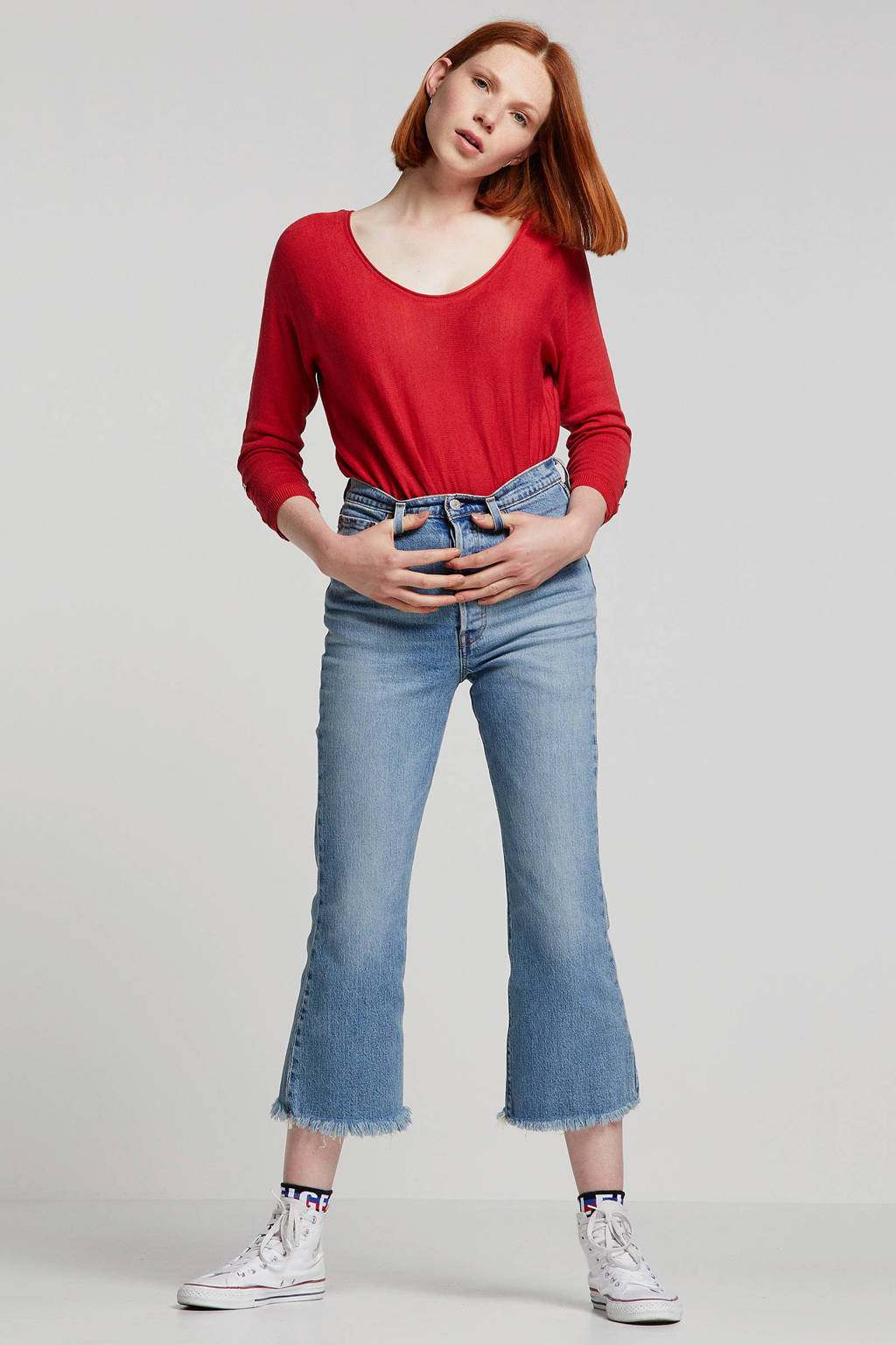 ESPRIT Women Casual trui rood, Rood