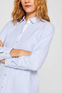 ESPRIT Women Casual gestreepte blouse lichtblauw/wit, Lichtblauw/wit