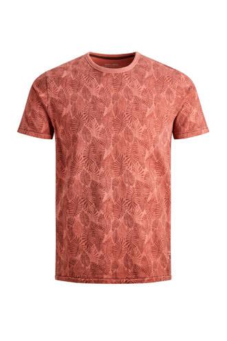 Jack & Jones Premium slim fit T-shirt met all over print