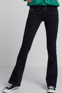 Diesel flared jeans D-Ebbey, Zwart