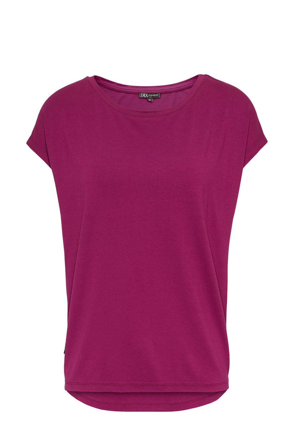 Didi T-shirt donkerrood, Donkerrood