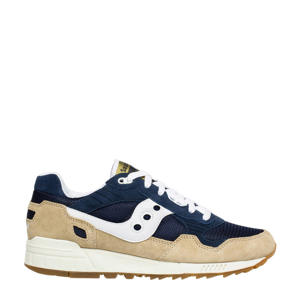 Shadow 5000  sneakers beige/donkerblauw/wit