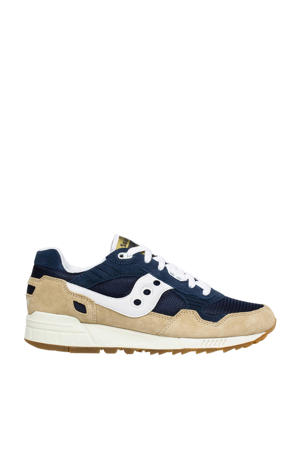 Shadow 5000  sneakers beige/donkerblauw/wit