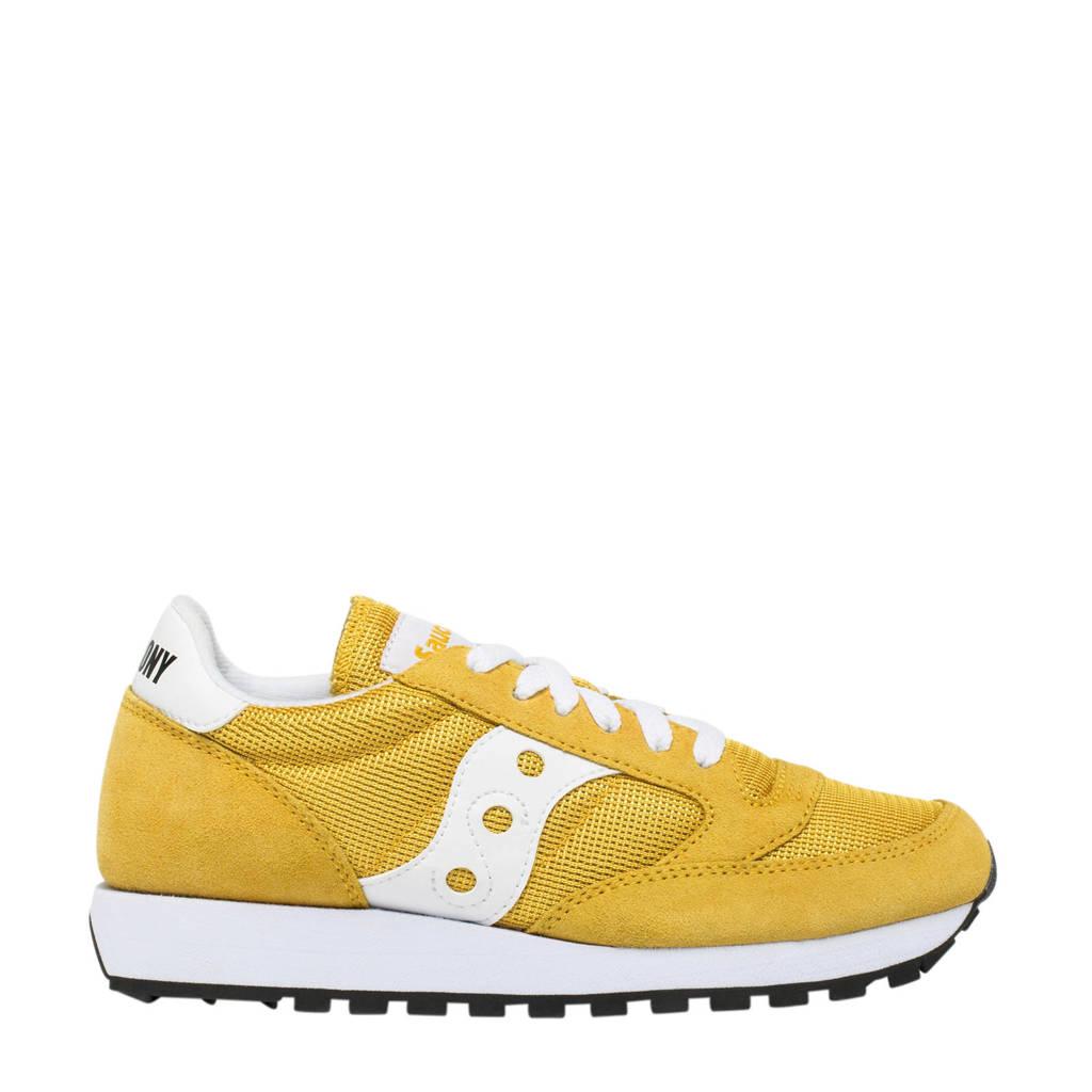 Saucony  Jazz Original Vintage sneakers geel/wit, Geel/wit