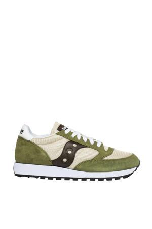 Jazz Original Vintage sneakers ecru/groen