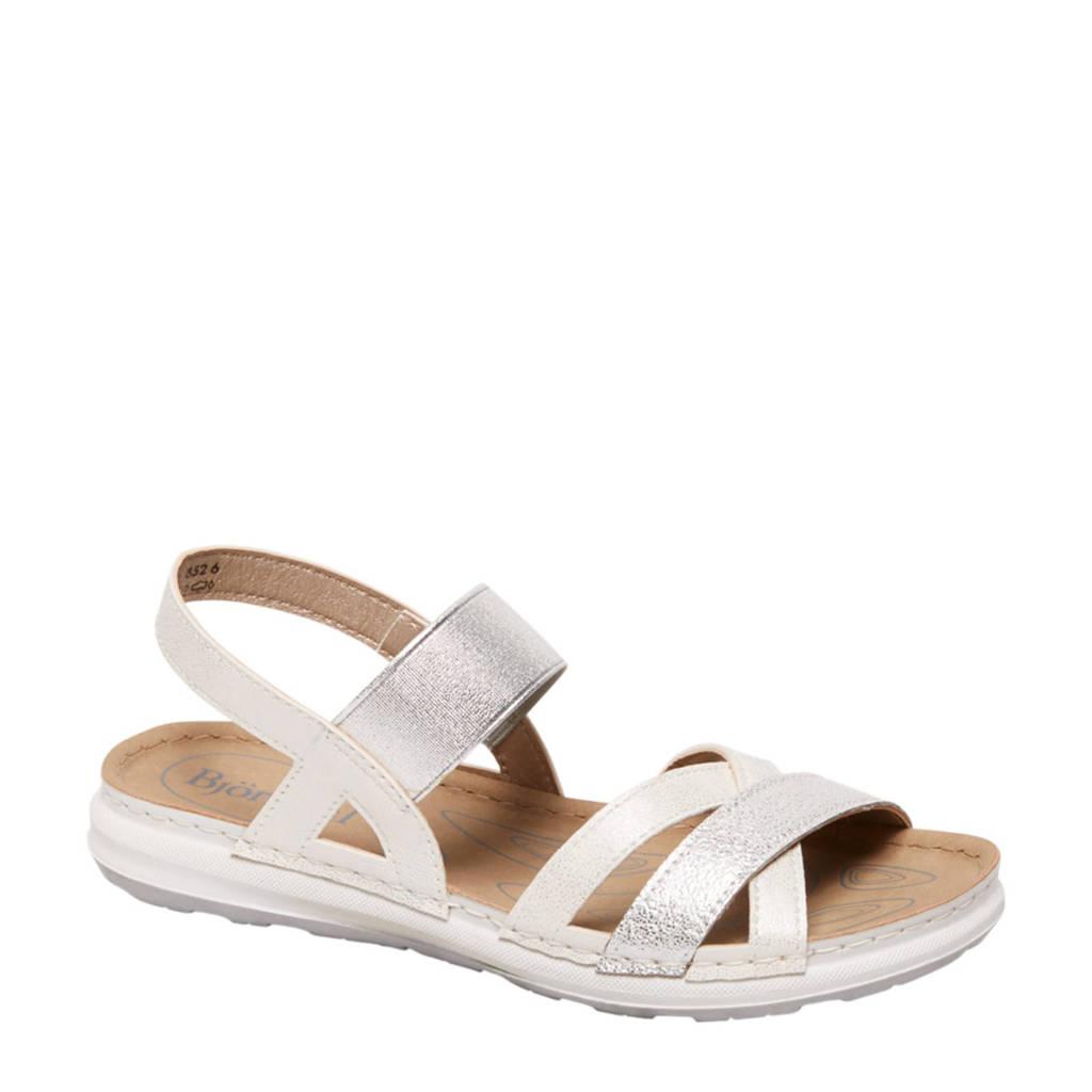 Bjorndal sandalen zilver, Zilver