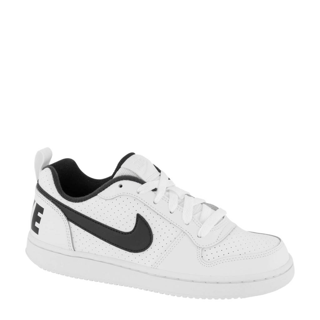 Nike  Court Borough low sneakers wit/zwart, Wit