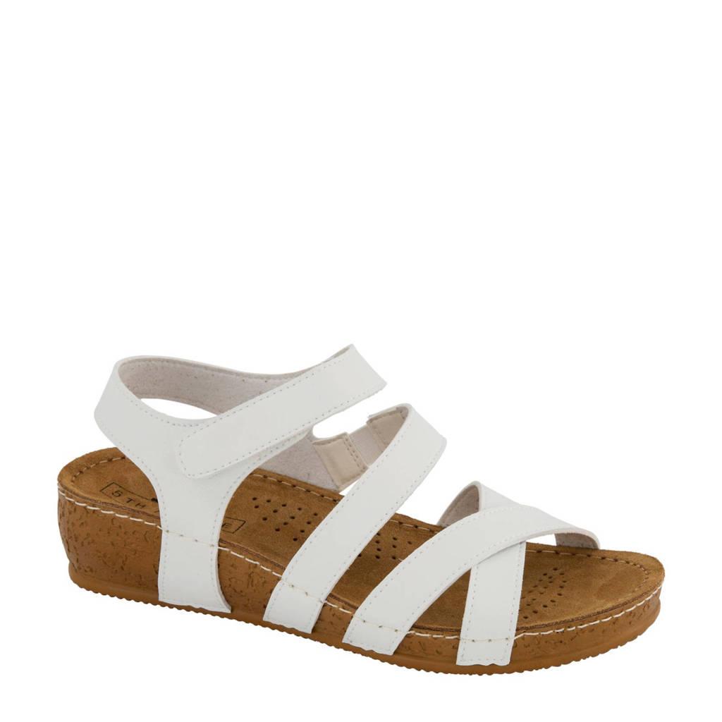 5th Avenue sandalen wit, Wit