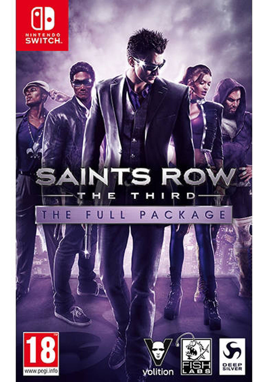 Saints row the third - The full package (Nintendo Switch)