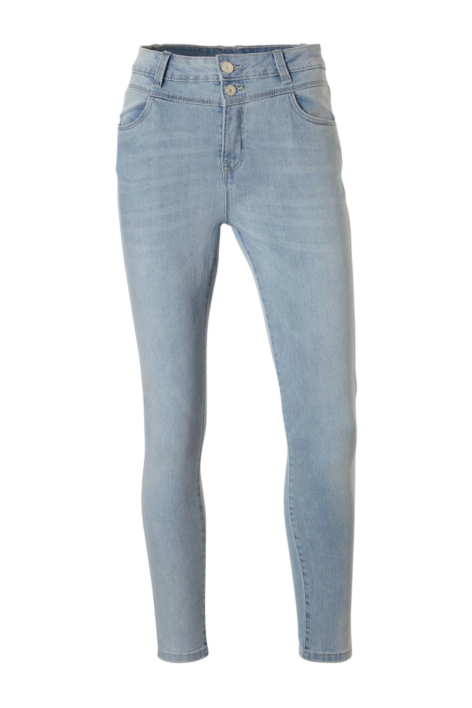 skinny jeans dames lichtblauw