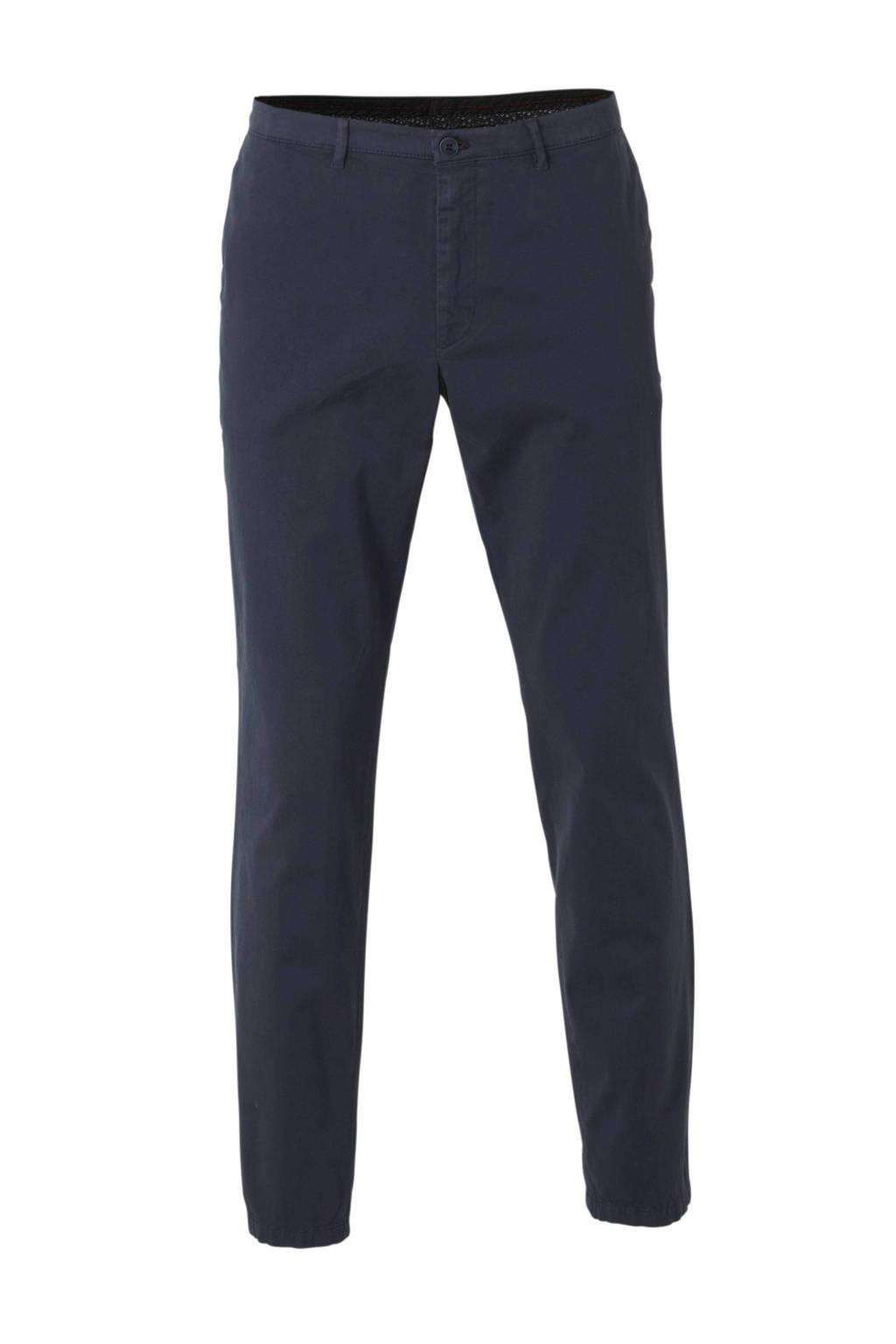 C&A slim fit chino blauw, Donkerblauw