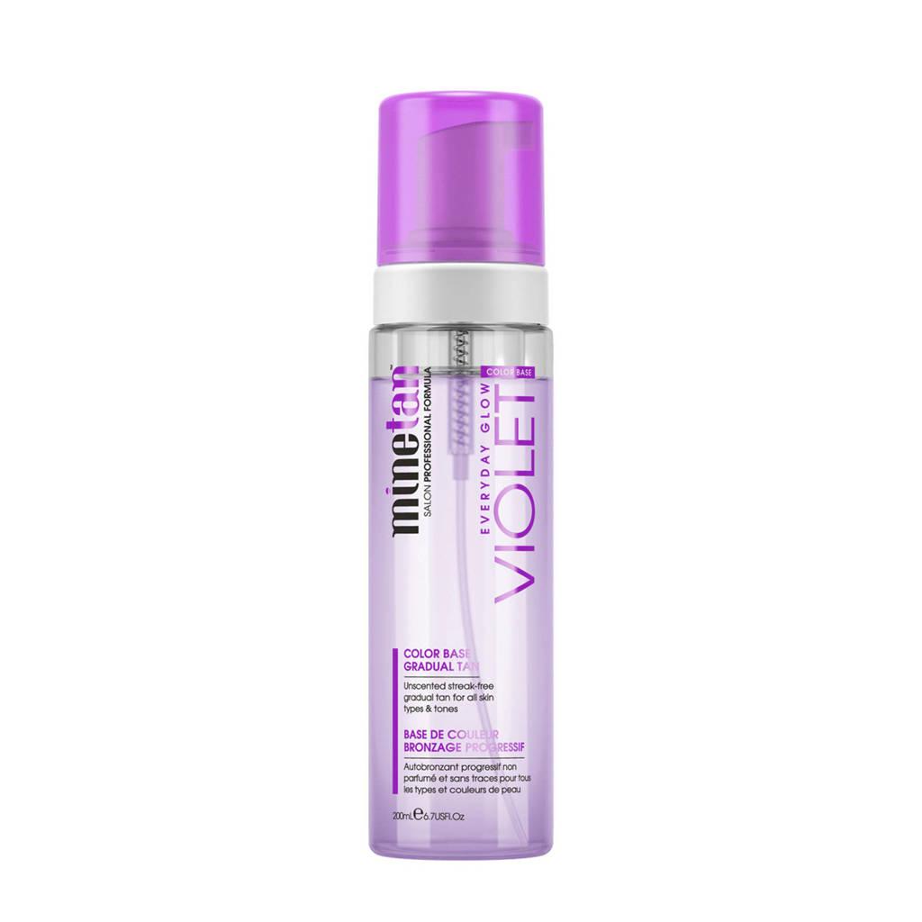 MineTan Violet Everyday Glow Gradual zelfbruiner - 200 ml