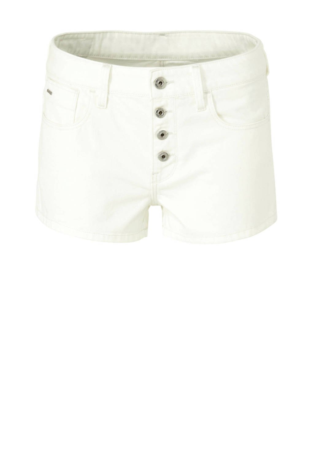 G-Star RAW slim fit jeans short, Ecru