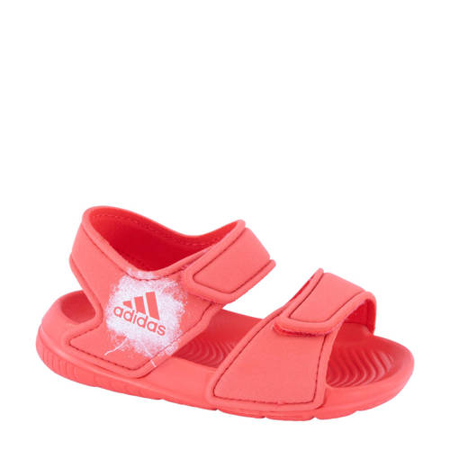 adidas watersandalen koraalrood