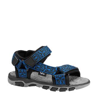 sandalen blauw/zwart