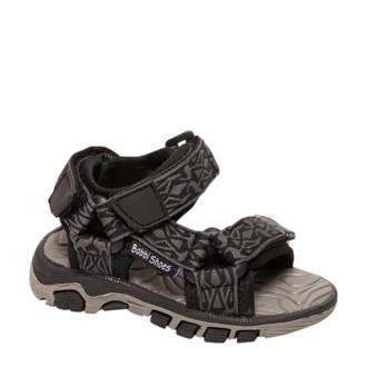 sandalen grijs/zwart