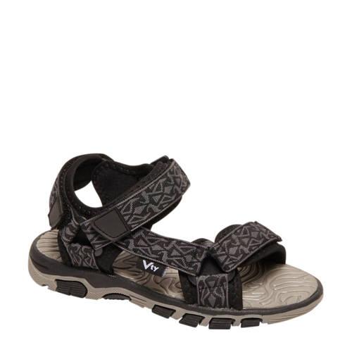 Victory sandalen grijs/zwart kopen