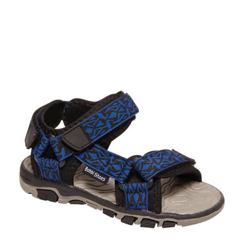 Bobbi-Shoes sandalen blauw/zwart kopen