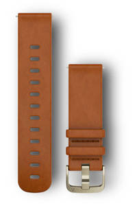 Garmin Garmin Quick Release 20 mm polsband  M/L, Bruin