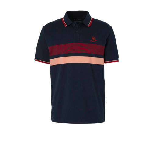 C&A Angelo Litrico polo met streepdessin