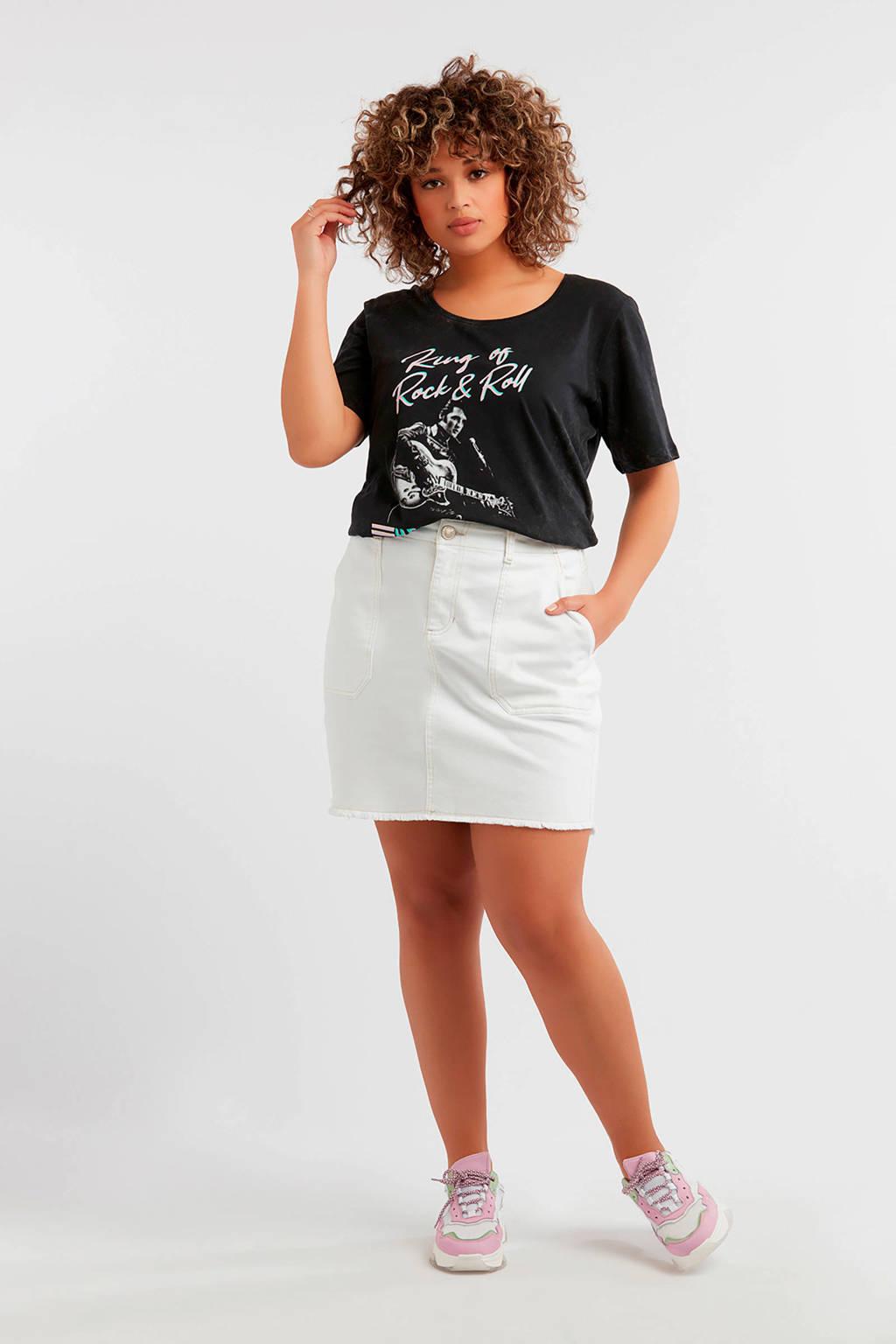 MS Mode T-shirt donkergrijs, Donkergrijs