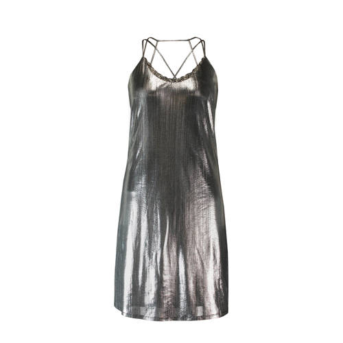 MS Mode jurk metallic kopen