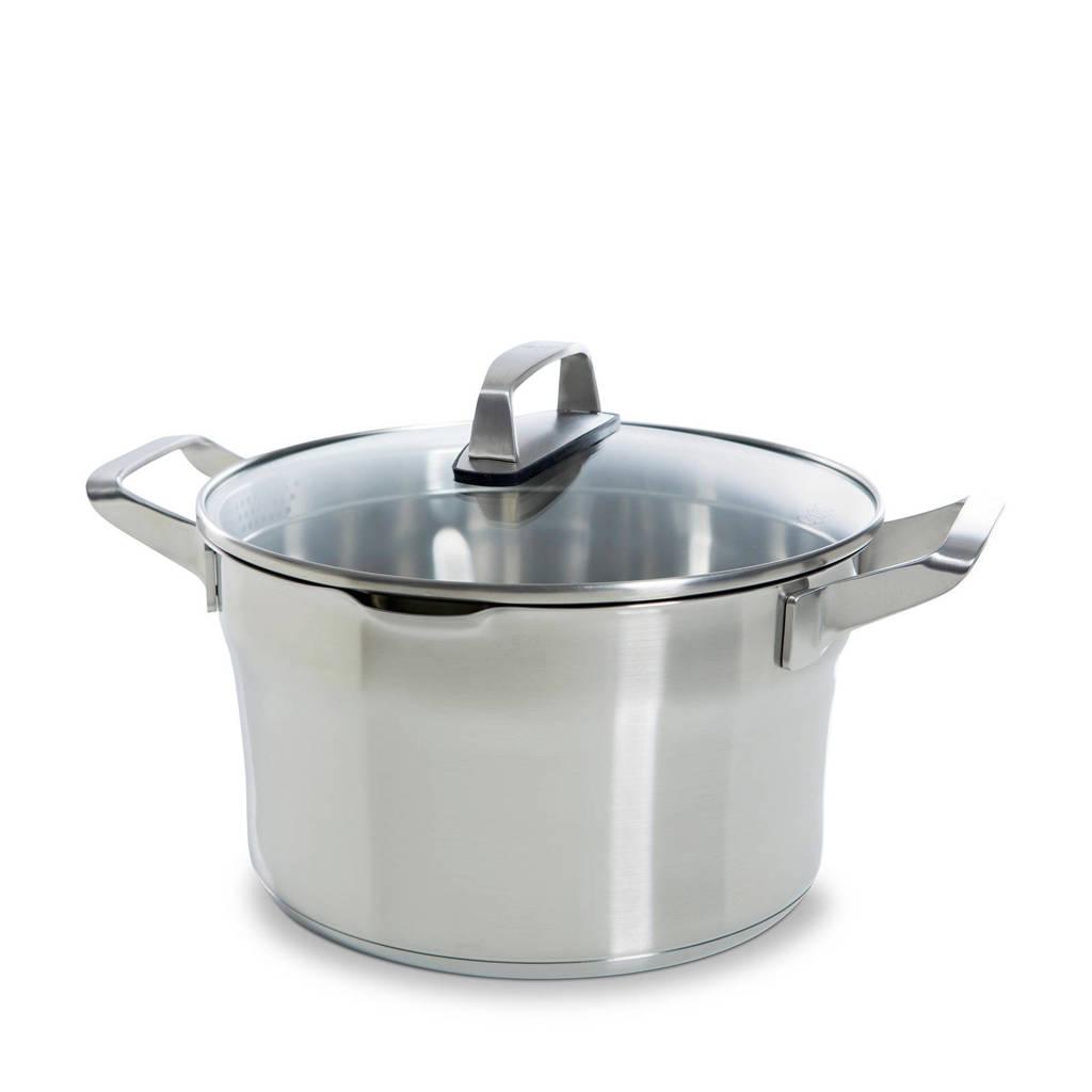 BK Premium+ soeppan (Ø24 cm), Zilver