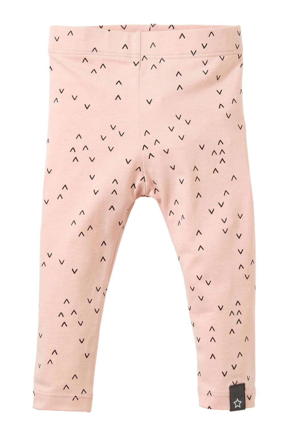 Your Wishes baby legging Waves met all over print roze, Roze