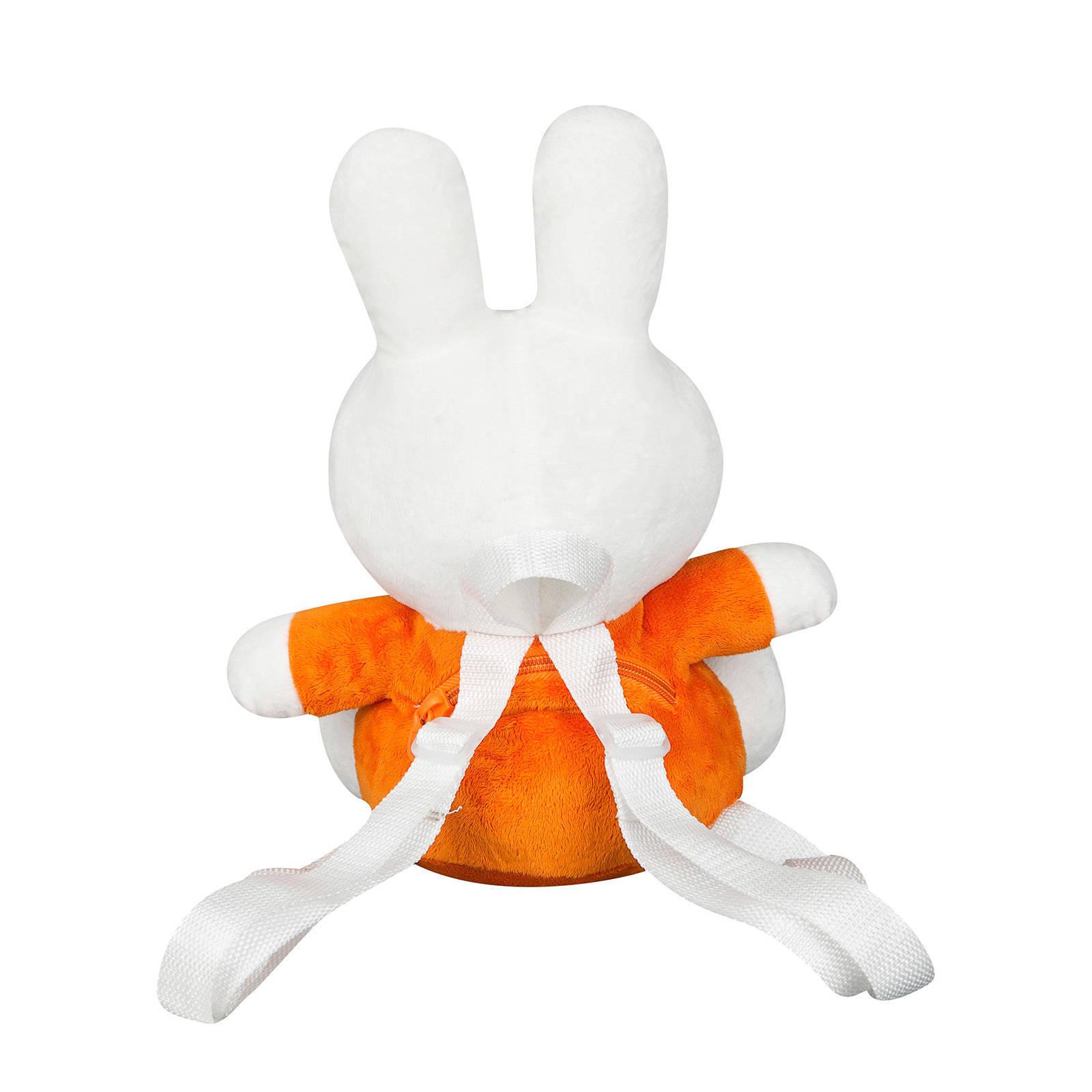 52805f77ba5 pluche 3D rugzak oranje
