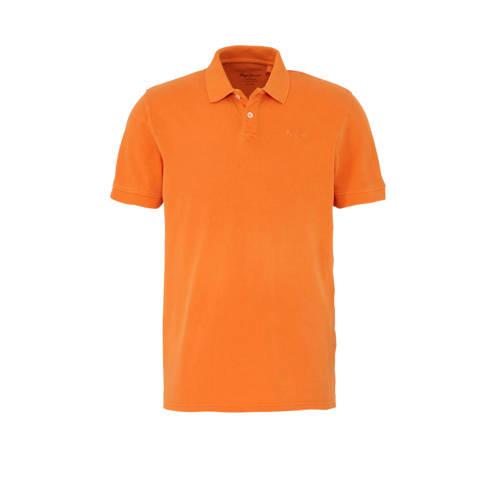 Pepe Jeans polo Vincent oranje