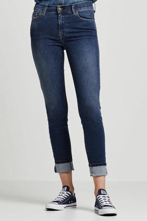 super skinny jeans D-roisin blauw