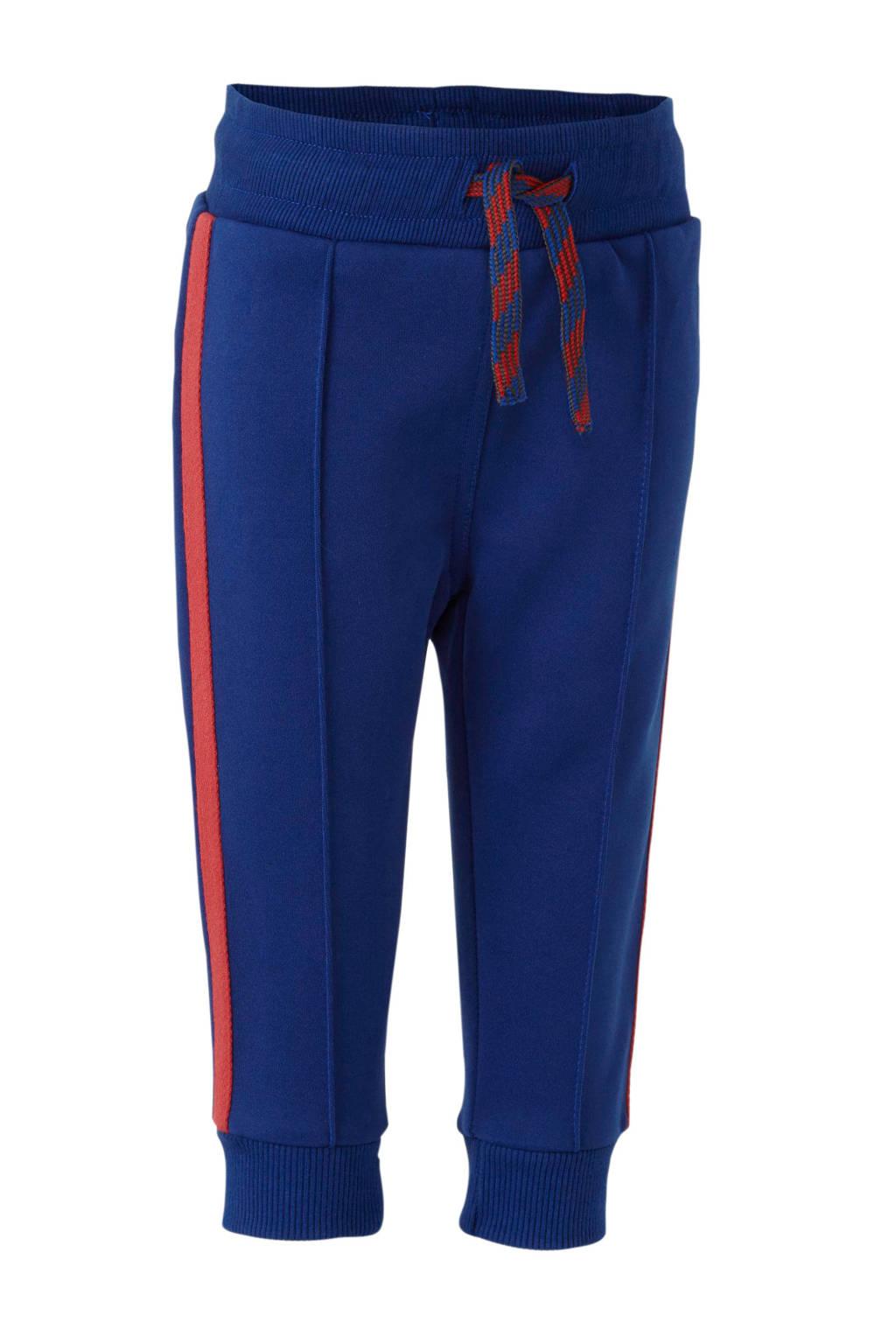Quapi broek Veron met zijbies kobaltblauw, Kobaltblauw