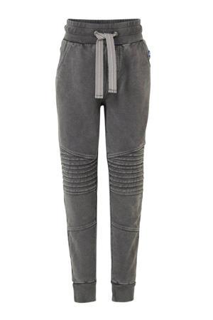 skinny joggingbroek grijs/zilver