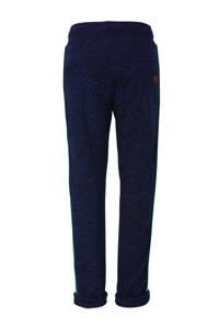 Quapi skinny broek met zijstreep donkerblauw, Donkerblauw