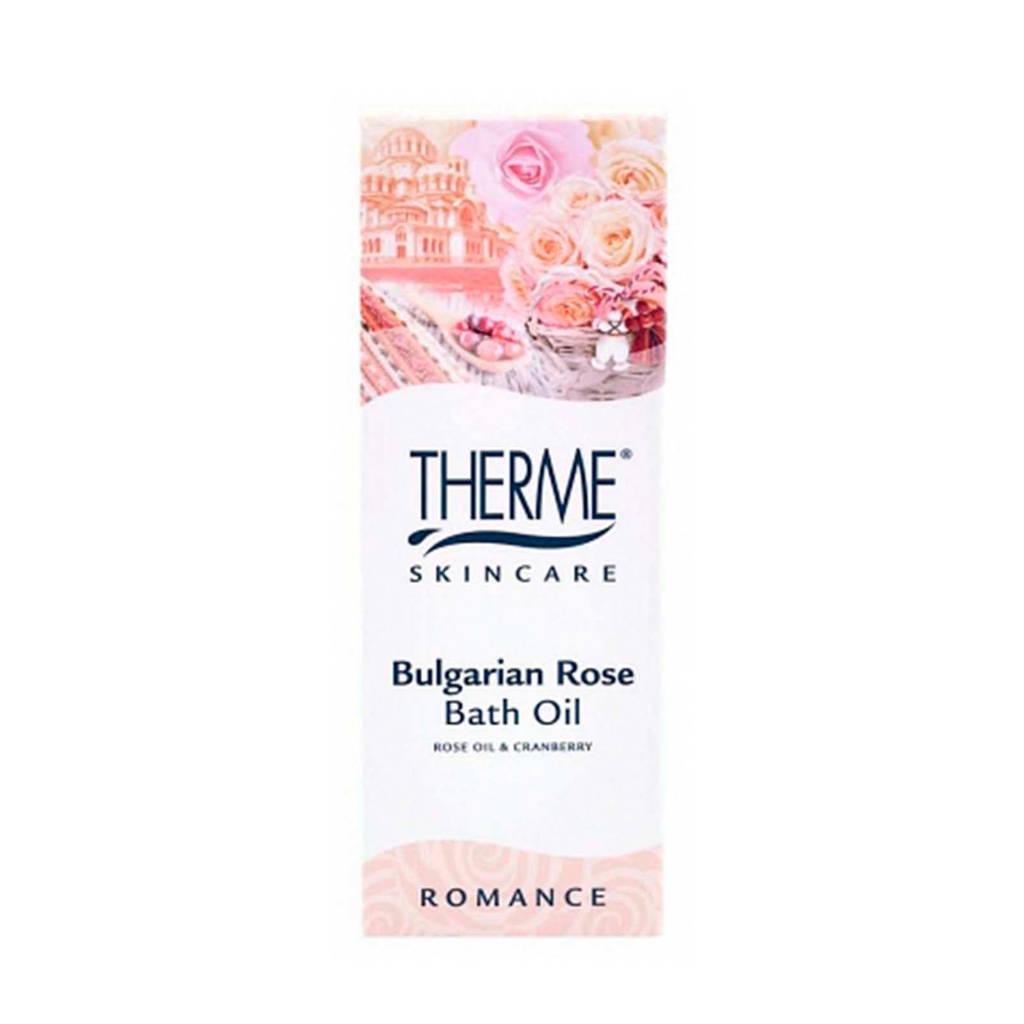 Therme Bulgarian Rose badolie - 100 ml
